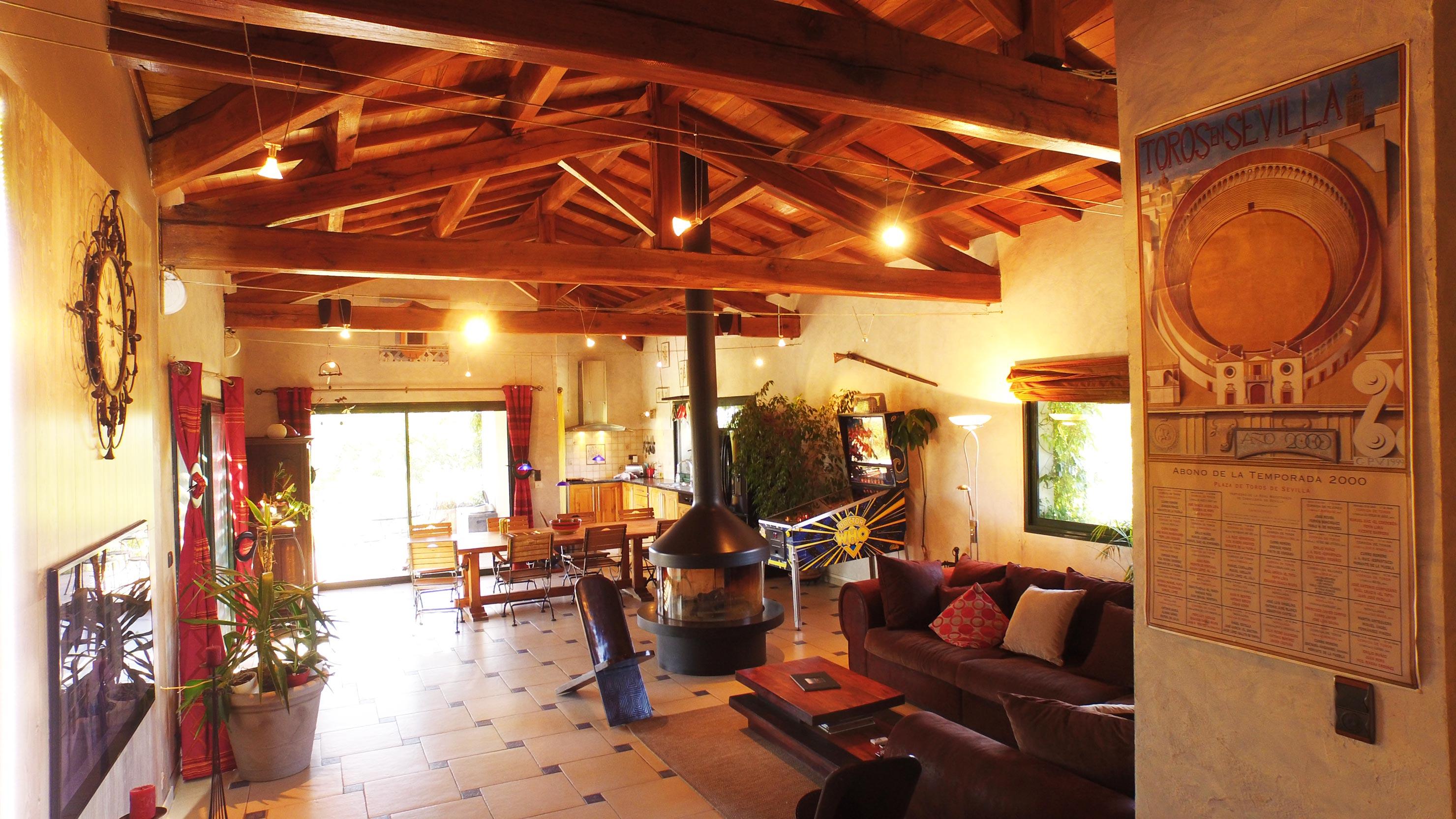 l 39 espace jour de villa magarre. Black Bedroom Furniture Sets. Home Design Ideas